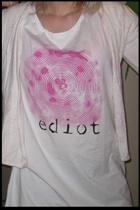 ediot t-shirt