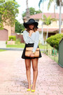 Black-floppy-asos-hat-tan-messenger-zara-bag