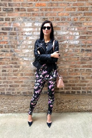 floral Adidas leggings - floral Adidas top