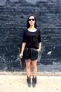 Suede-isabel-marant-for-h-m-boots-leather-h-m-shorts