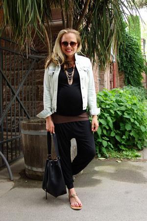 H&M jacket - H&M bag - H&M shorts - Tommy Hilfiger sandals