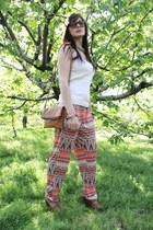 Sfera accessories - Low Cost shirt - pull&bear bag - Sarocco pants