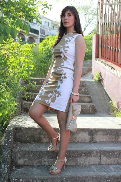 EZZIO bag - Ines Beneth dress - EZZIO heels