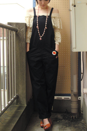 top - - H&amp;M shoes - necklace - scarf