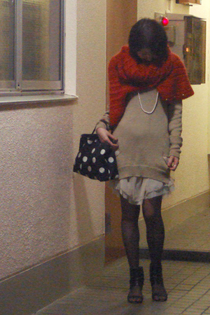 dress - - ASH shoes - tights