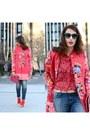 Red-zara-boots-red-liu-jo-coat-violet-zara-jeans-red-liu-jo-blouse