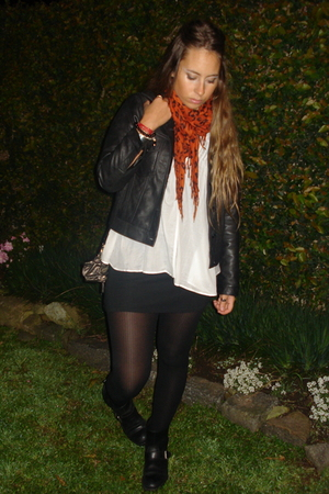 The Row jacket - ayresarg shirt - jazmin chebararg dress - silvanaarg tights - r