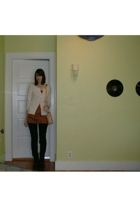 Isaac Mizrahi for Target sweater - Miss Selfridge dress - pants - Wet Seal boots