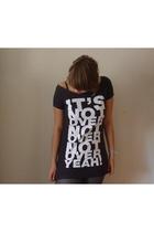 H&M shirt - tights