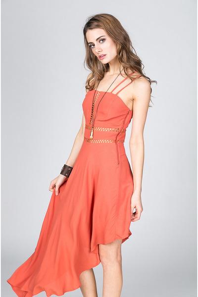 Pink Stitch dress