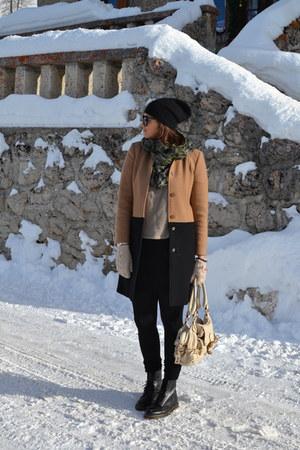 max&co coat - Dr Martens boots - Chloe bag