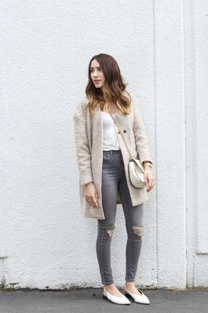 tan coat shein coat