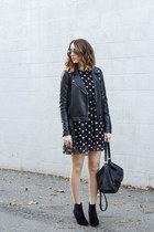 polka dot dress Sheinside dress