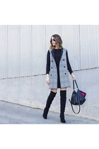 sleeveless coat Topshop coat