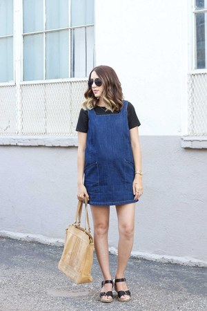 denim dress Forever 21 dress