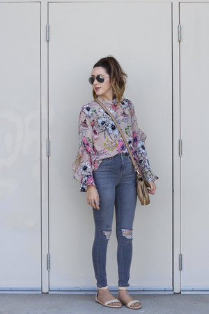 floral top Chicwish top