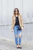 blazer Target blazer - jeans Topshop jeans