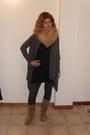 Charcoal-gray-conbipel-cardigan-beige-no-brand-boots-beige-no-brand-scarf