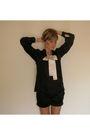 Black-h-m-blouse-white-h-m-skirt-black-shoes-black-chanel-purse-gold-acc