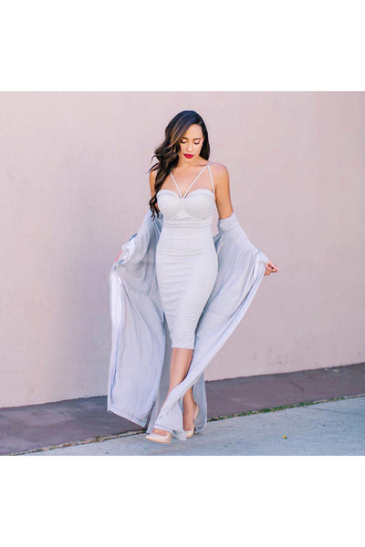 periwinkle Missguided dress
