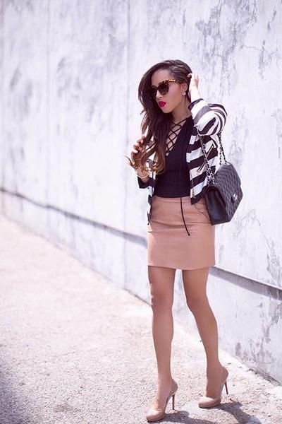 light pink Forever 21 skirt