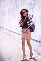 Lace Leather & Stripes