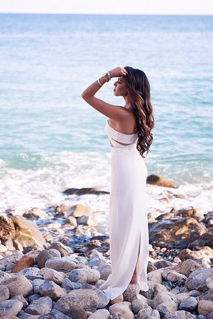 white Solace London dress