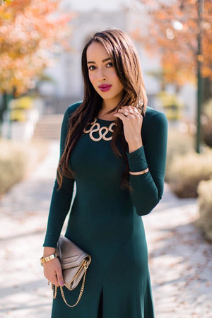 teal Lulus dress