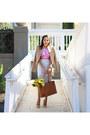Jacket-bag-heels-skirt