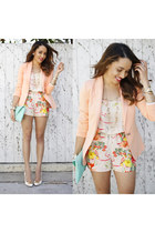 Charlotte Russe romper - Sole Society shoes - Zara blazer