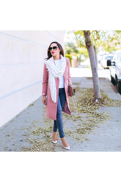 pink Forever 21 coat
