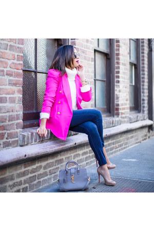pink dior blazer
