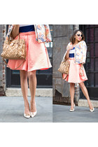 light pink GIRLS ON FILM skirt - light pink floral River Island jacket