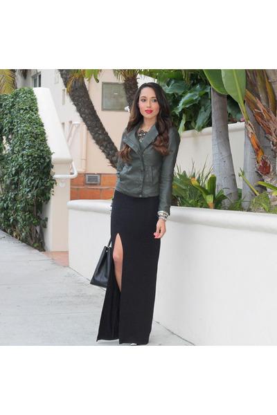 black Bebe shoes - black asos dress