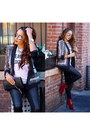 Brick-red-qupid-interest-83-shoes-black-bcbg-max-azria-blazer