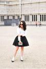 Cotton-runway-bandits-shirt-neoprene-h-m-skirt-leather-staccato-heels