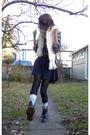 Blue-nordstrom-top-blue-american-apparel-skirt-silver-american-apparel-socks