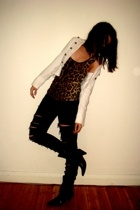 Target Australia shoes - supre jeans - Valleygirl top - Dotti jacket