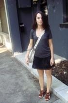 Mimco purse - Sportsgirl accessories - supre t-shirt - Sportsgirl skirt - Target