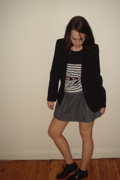 shoes - jacket - skirt