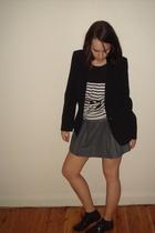 shoes - jacket - skirt