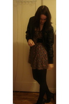 MinkPink dress - Target Australia shoes - tights - Target Australia jacket