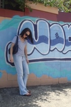 sunglasses - supre t-shirt - rubi shoes - Sportsgirl jeans - accessories - acces