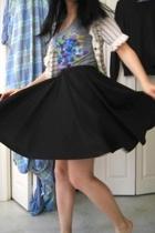 Zara shirt - Gap sweater - skirt
