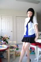 LA Made shirt - Gap blouse - Gap sweater - Gap skirt - Dollhouse