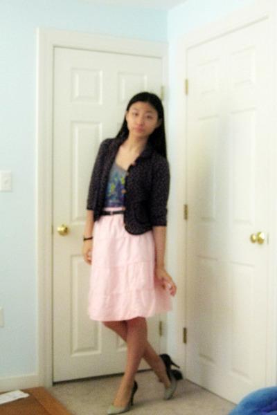 coat - Zara shirt - Gap Kids skirt - belt - Dollhouse shoes