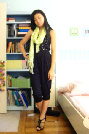 J Crew top - Express pants - Bakers shoes - Gap scarf