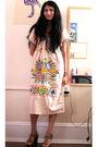 Beige-vintage-dress