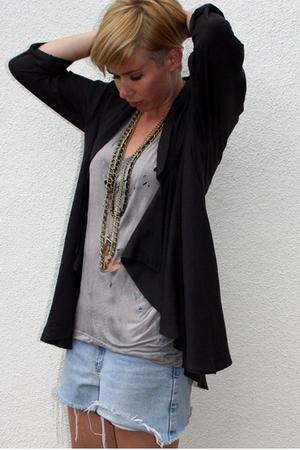 Urban Outfitters blazer - KVLT shirt - vintage shorts