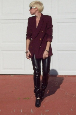 'Leather' Pants